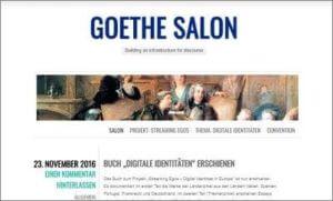 Screenshot goethe salon